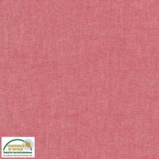 """Stof - Sevilla Shot Cotton - 152 cm wide (60"""") 2758.024 - Rouge"""