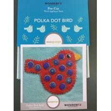 Sue Spargo - Polka Dot Bird Colour 2