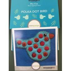 Sue Spargo - Polka Dot Bird Colourway 3