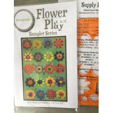 Flower Play Sampler Series by Sue Spargo