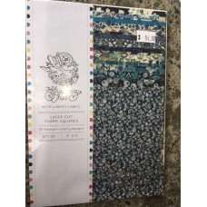 Liberty Lawn Charm Square Pack - Blue