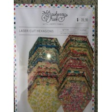 Liberty Hexagons - Assorted Colours