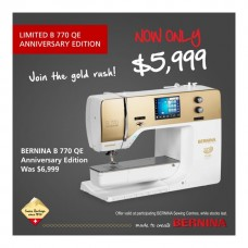 Bernina B770 QE Anniversary Edition