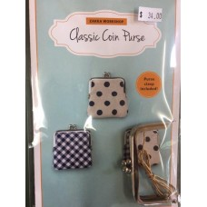 Classic Coin Purse- Pattern and Frame