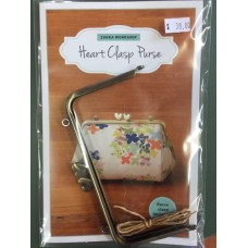 Heart Clasp Purse - Pattern and Frame