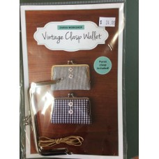 Vintage Clasp Wallet - Pattern and frame