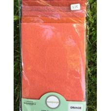 Sue Spargo Wool Pack - Orange