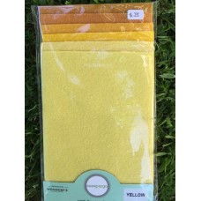 Sue Spargo Wool Pack - Yellow