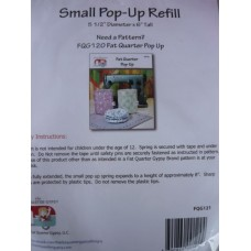 Fat Quarter Pop Up Bag- Refill