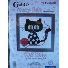 Crazy Cats - Knit Kitty Kit