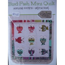 Bird-Fish Mini Quilt