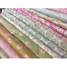 Tilda Fabrics - Bundle of 12 new Tilda FQ's