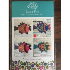 Little Fish Pre-cut wool applique kit