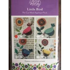 Little Bird Pre-cut wool applique kit
