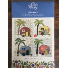 Caravan Pre-cut wool applique kit