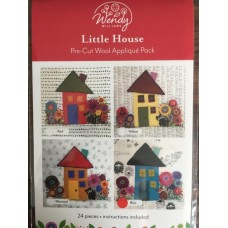 Little House Pre-cut wool applique kit