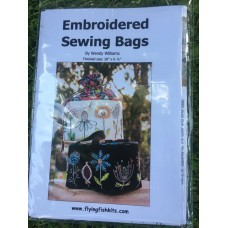 Embroidered Sewing Bags