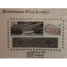 Pennsylvania Dutch Sampler by Willow Hill Sampling's