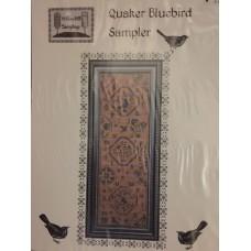 Quaker Bluebird Sampler by Willow Hill Sampling's
