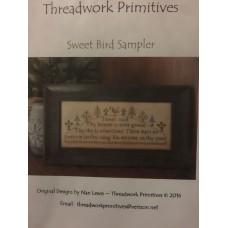 Sweet Bird Sampler by Willow Hill Sampling's