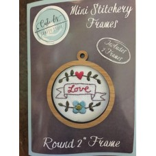 Mini Stitchery Frames x 2 2""