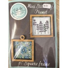 "Mini Stitchery Frames x 2 1 1/2"" square"