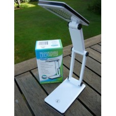 Rechargeable LED Folding Desk Lamp with USB cable