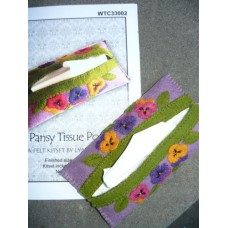 Pansy Tissue Pouch - KIT