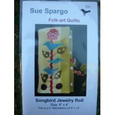 Songbird Jewelry Roll