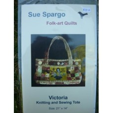 Victoria Knitting & Sewing Tote
