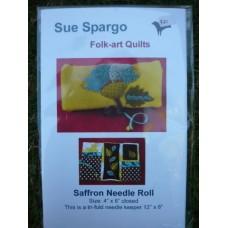 Saffron Knitting Needle Roll