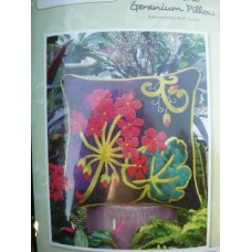 Geranium Pillow Cushion- KIT