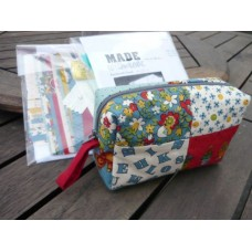 Made with Love Patchwork Pouch - KIT