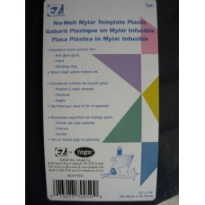 Mylar No Melt Template Plastic