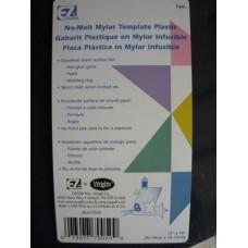 Mylar No Melt Template Plastic