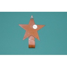 Single Rusty Star Hook