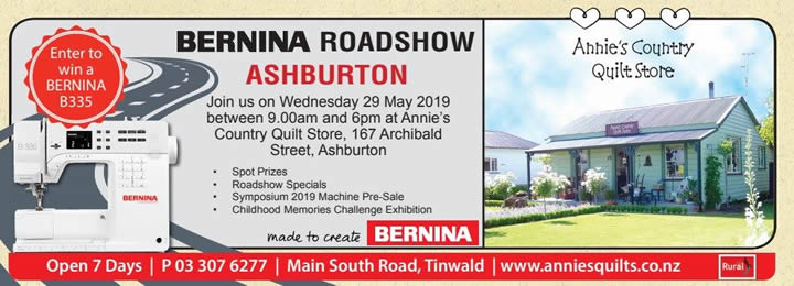 bernina roadshow